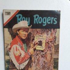 Tebeos: ROY RGOERS N° 199 (FOTO EN PORTADA) - ORIGINAL EDITORIAL NOVARO. Lote 154094550