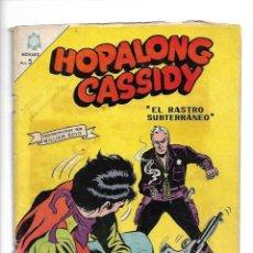 Tebeos: HOPALONG CASSIDY, Nº 137. AÑO 1966. EDITORIAL NOVARO, S. A.. Lote 154135682