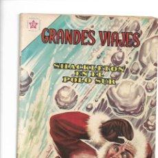 Tebeos: GRANDES VIAJES, SHACKLETON EN EL POLO SUR, Nº 1. AÑO 1963. EDITORIAL ER.. Lote 154223042