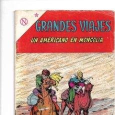 Tebeos: GRANDES VIAJES, UN AMERICANO EN MONGOLIA, Nº 12. AÑO 1964. EDITORIAL ER.. Lote 154223578