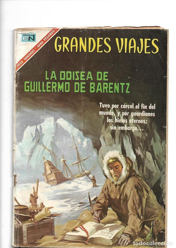 GRANDES VIAJES, LA ODISEA DE GUILLERMO DE BARENTZ, Nº 48. AÑO 1967. EDITORIAL NOVARO, S. A. (Comics und Tebeos - Novaro - Grandes Viajes)