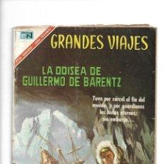 Tebeos: GRANDES VIAJES, LA ODISEA DE GUILLERMO DE BARENTZ, Nº 48. AÑO 1967. EDITORIAL NOVARO, S. A.. Lote 154226646