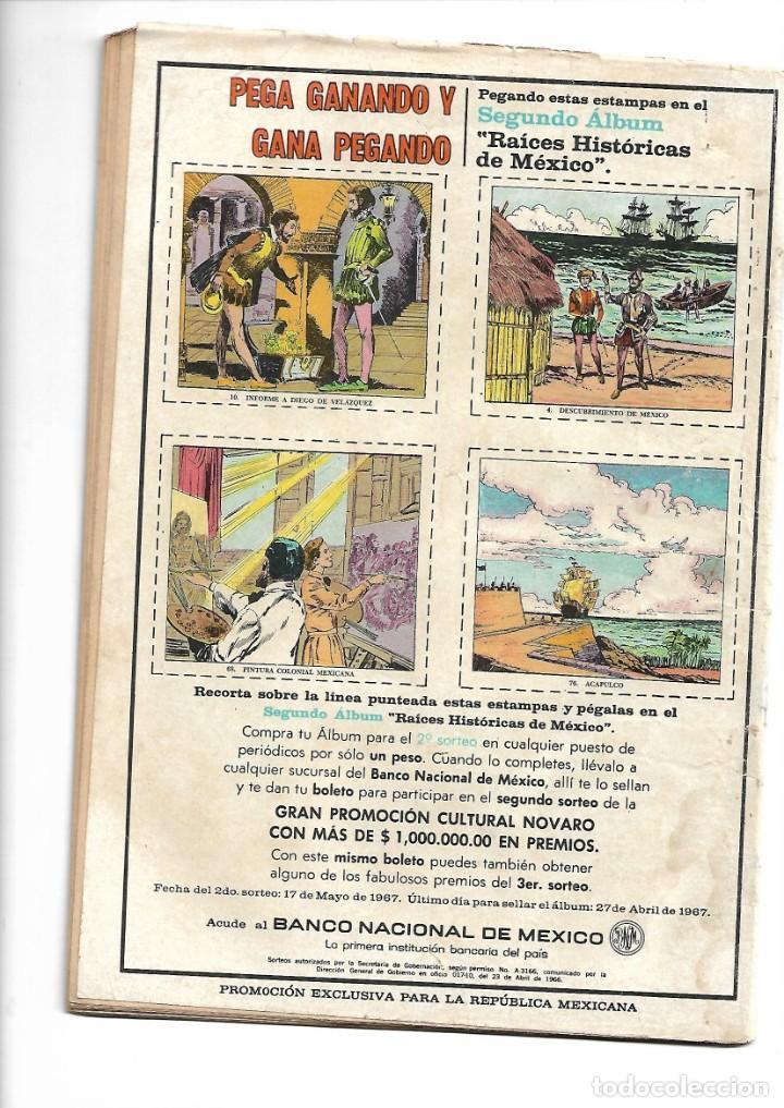 Tebeos: Grandes Viajes, La Odisea de Guillermo de Barentz, Nº 48. Año 1967. Editorial Novaro, S. A. - Foto 2 - 154226646