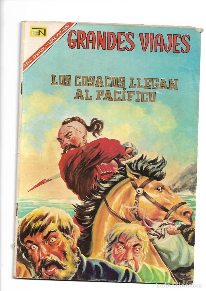 GRANDES VIAJES, LOS COSACOS LLEGAN AL PACÍFICO, Nº 49. AÑO 1967. EDITORIAL NOVARO, S. A. (Comics und Tebeos - Novaro - Grandes Viajes)