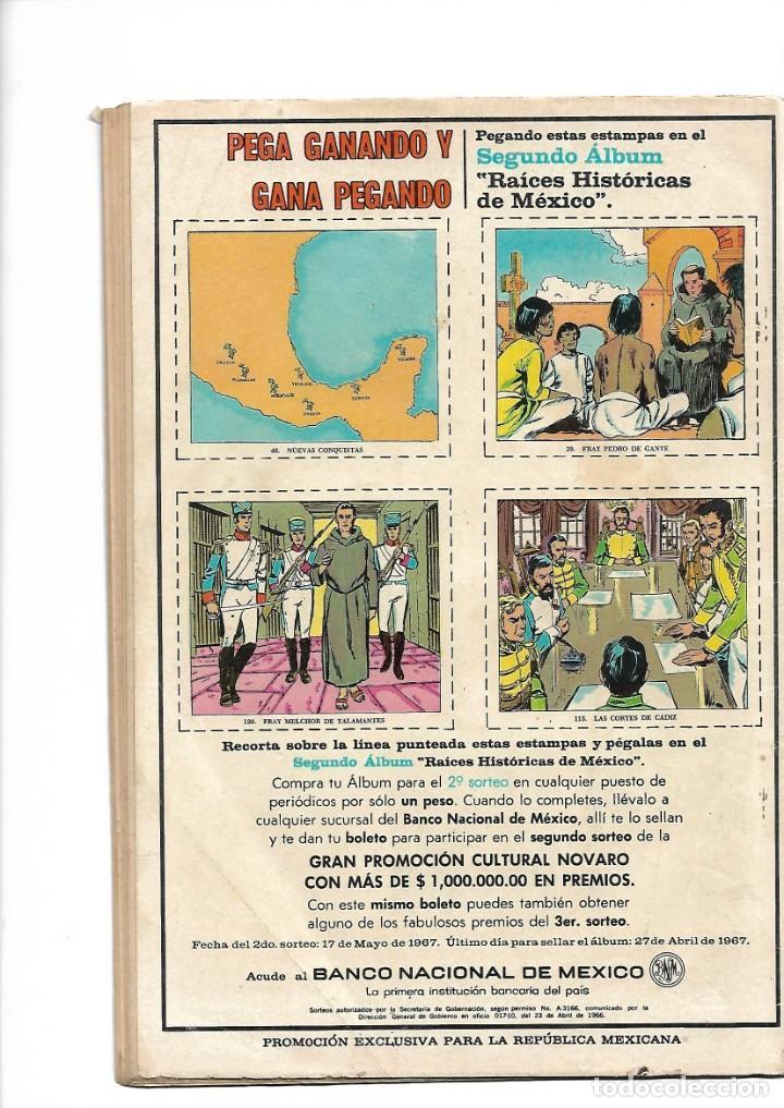 Tebeos: Grandes Viajes, Los Cosacos Llegan al Pacífico, Nº 49. Año 1967. Editorial Novaro, S. A. - Foto 2 - 154227502
