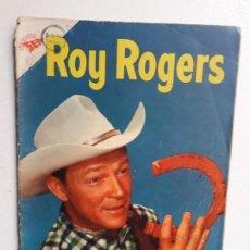 Tebeos: ROY ROGERS N° 33 (FOTO EN PORTADA) - ORIGINAL EDITORIAL NOVARO. Lote 154234518