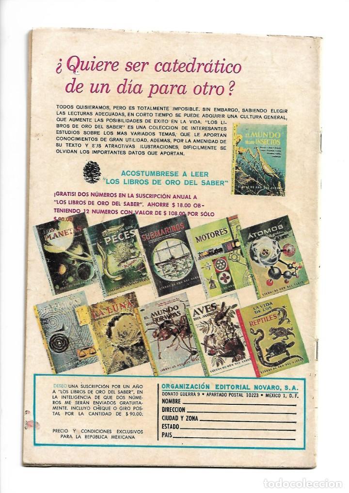 Tebeos: Porky y sus Amigos, Nº 199. Año 1968. Editorial Novaro, S. A. - Foto 2 - 154237414