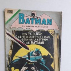 Tebeos: BATMAN N° 581 - ORIGINAL EDITORIAL NOVARO. Lote 154367610