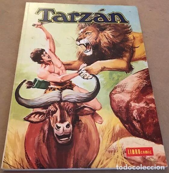 TARZÁN. LIBRO CÓMIC. TOMO XX - NOVARO - 1976 (Tebeos y Comics - Novaro - Tarzán)