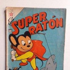 Tebeos: EL SUPER RATÓN N° 84 - ORIGINAL EDITORIAL NOVARO. Lote 154468630