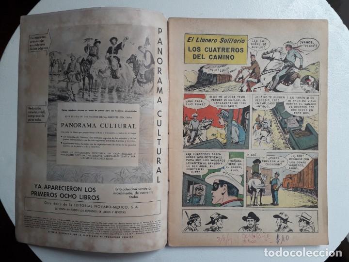 Tebeos: El llanero solitario n° 114 (foto en portada) - original editorial Novaro - Foto 2 - 154469074