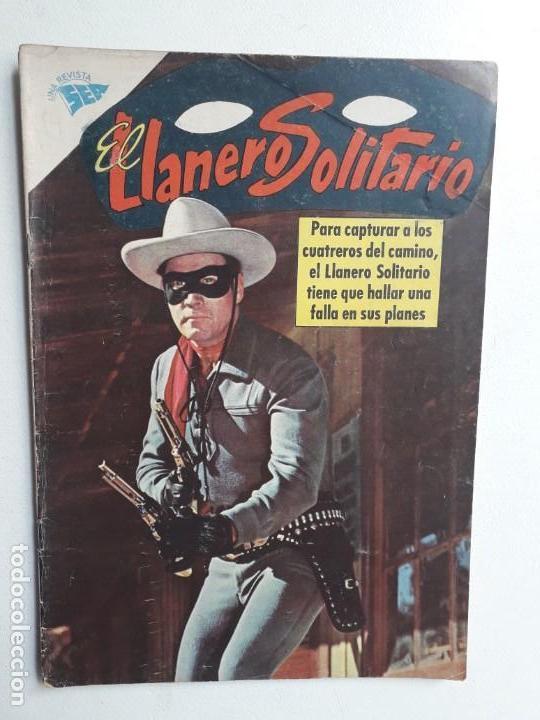 EL LLANERO SOLITARIO N° 114 (FOTO EN PORTADA) - ORIGINAL EDITORIAL NOVARO (Tebeos y Comics - Novaro - El Llanero Solitario)
