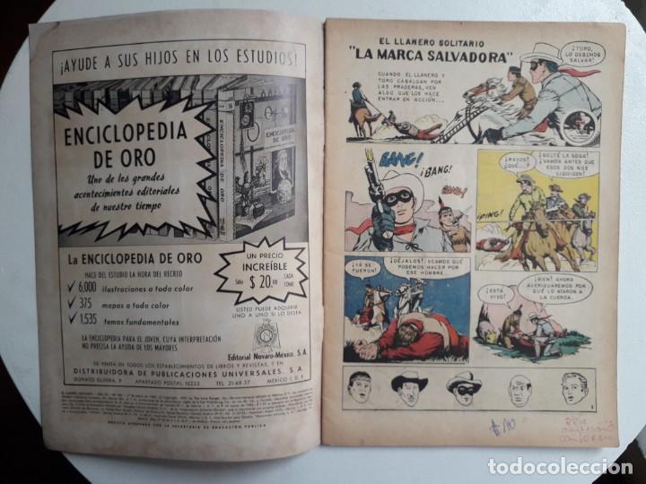Tebeos: El llanero solitario n° 106 (foto en portada) - original editorial Novaro - Foto 2 - 154470230