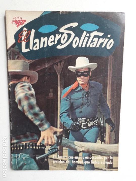 EL LLANERO SOLITARIO N° 106 (FOTO EN PORTADA) - ORIGINAL EDITORIAL NOVARO (Tebeos y Comics - Novaro - El Llanero Solitario)