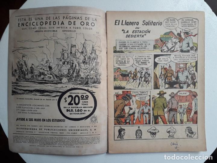 Tebeos: El llanero solitario n° 103 (foto en portada) - original editorial Novaro - Foto 2 - 154470458