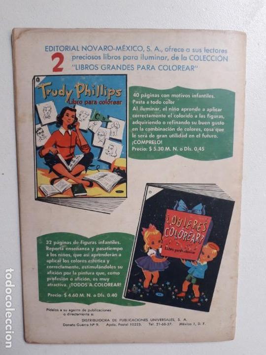 Tebeos: El llanero solitario n° 103 (foto en portada) - original editorial Novaro - Foto 3 - 154470458