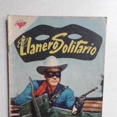 Tebeos: EL LLANERO SOLITARIO N° 77 (FOTO EN PORTADA) - ORIGINAL EDITORIAL NOVARO. Lote 154470726