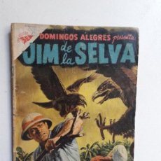Tebeos: DOMINGOS ALEGRES N° 186 - JIM DE LA SELVA - ORIGINAL EDITORIAL NOVARO. Lote 154471922