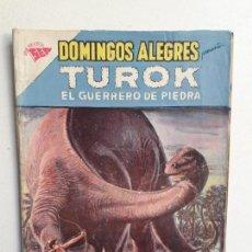 Tebeos: DOMINGOS ALEGRES N° 406 - TUROK EL GUERRERO DE PIEDRA - ORIGINAL EDITORIAL NOVARO. Lote 154472142