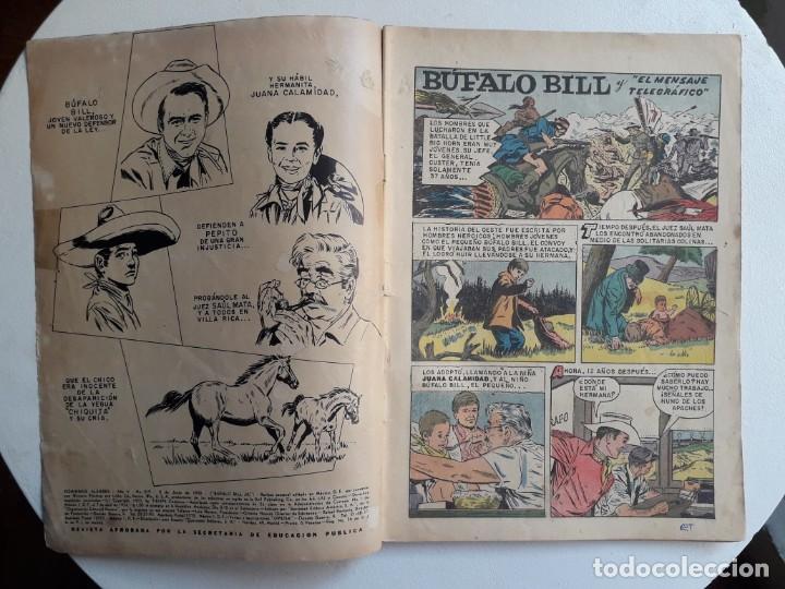 Tebeos: Domingos alegres n° 219 - Búfalo Bill - original editorial Novaro - Foto 2 - 154472538