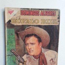 Tebeos: DOMINGOS ALEGRES N° 268 BÚFALO BILL - ORIGINAL EDITORIAL NOVARO. Lote 154472658