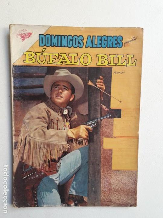 Tebeos: Domingos alegres n° 363 Búfalo Bill - original editorial Novaro - Foto 1 - 154472762