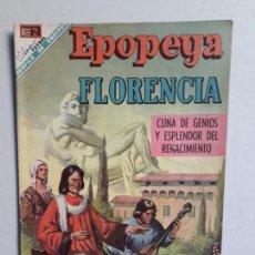 Tebeos: EPOPEYA N° 127 - ORIGINAL EDITORIAL NOVARO. Lote 154597046