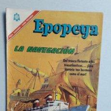 Tebeos: EPOPEYA N° 101 - ORIGINAL EDITORIAL NOVARO. Lote 154597262