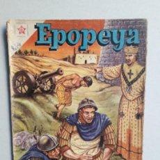 Tebeos: EPOPEYA N° 13 - ORIGINAL EDITORIAL NOVARO. Lote 154597958