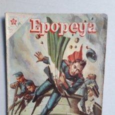 Tebeos: EPOPEYA N° 1 - LOS NIÑOS HÉROES - ORIGINAL EDITORIAL NOVARO. Lote 154598594