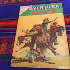 Tebeos: MUY BUEN ESTADO, AVENTURA Nº 318 MAVERICK. NOVARO 1964. 5 PTS. . Lote 154637798