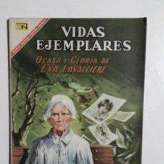 Tebeos: VIDAS EJEMPLARES N° 252 - ORIGINAL EDITORIAL NOVARO. Lote 154891830
