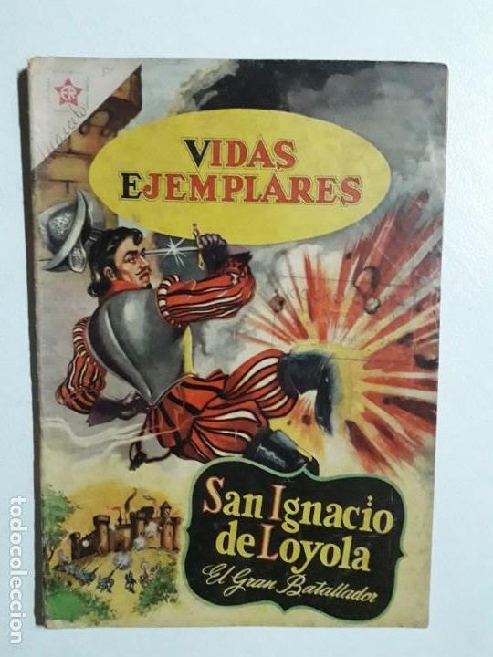 VIDAS EJEMPLARES N° 81 - ORIGINAL EDITORIAL NOVARO (Tebeos y Comics - Novaro - Vidas ejemplares)
