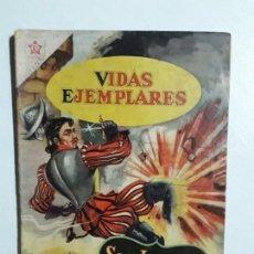 Tebeos: VIDAS EJEMPLARES N° 81 - ORIGINAL EDITORIAL NOVARO. Lote 154893066