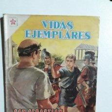 Tebeos: VIDAS EJEMPLARES N° 60 - ORIGINAL EDITORIAL NOVARO. Lote 154893646