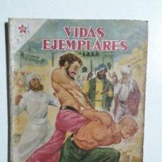 Tebeos: VIDAS EJEMPLARES N° 56 - ORIGINAL EDITORIAL NOVARO. Lote 154893954