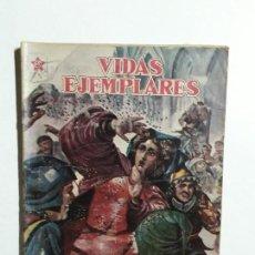 Tebeos: VIDAS EJEMPLARES N° 50 - ORIGINAL EDITORIAL NOVARO. Lote 154894146