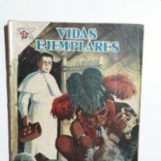 Tebeos: VIDAS EJEMPLARES N° 45 - ORIGINAL EDITORIAL NOVARO. Lote 154894490