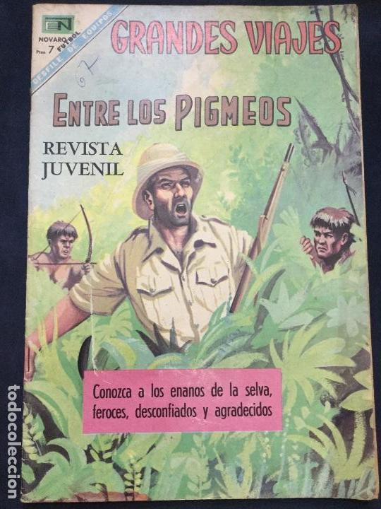 GRANDES VIAJES NUMERO 67 MUY BUEN ESTADO (Tebeos y Comics - Novaro - Grandes Viajes)