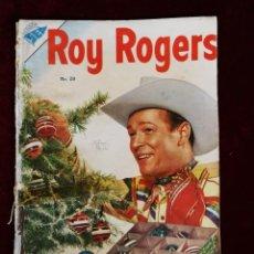 Livros de Banda Desenhada: ROY ROGERS Nº 28 PRIMERA NUMERACIÓN AÑOS 50 EDITORIAL SEA NOVARO. Lote 155269294