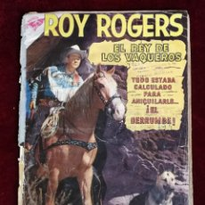 Livros de Banda Desenhada: ROY ROGERS Nº 87 PRIMERA NUMERACIÓN AÑOS 50 EDITORIAL SEA NOVARO. Lote 155273426