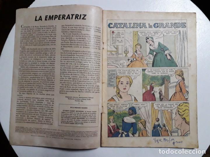 Tebeos: Mujeres Célebres n° 3 - original editorial Novaro - Foto 2 - 155438134