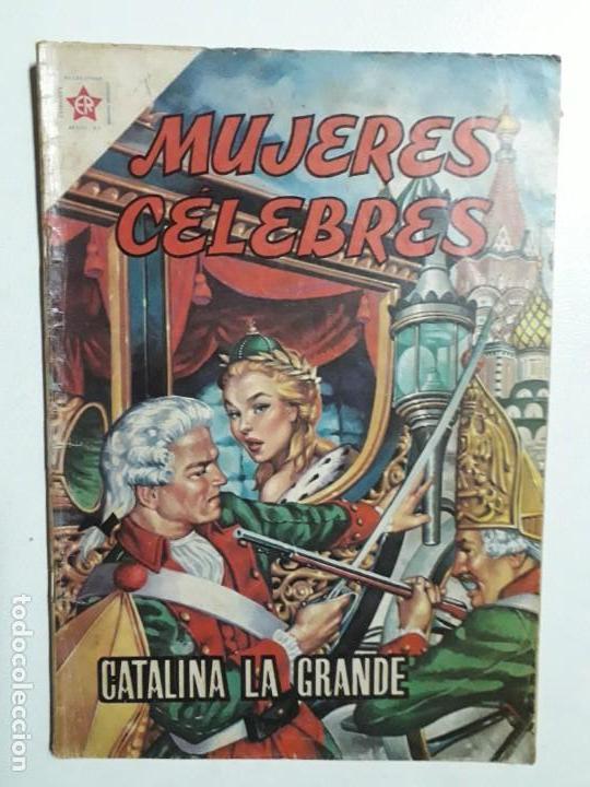 MUJERES CÉLEBRES N° 3 - ORIGINAL EDITORIAL NOVARO (Tebeos y Comics - Novaro - Otros)