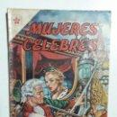 Tebeos: MUJERES CÉLEBRES N° 3 - ORIGINAL EDITORIAL NOVARO. Lote 155438134