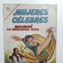 Tebeos: MUJERES CÉLEBRES N° 20 - ORIGINAL EDITORIAL NOVARO. Lote 155438494