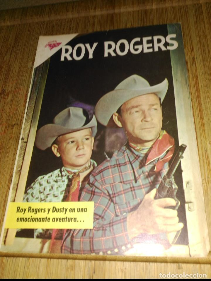 ROY ROGERS Nº 119 (Tebeos y Comics - Novaro - Roy Roger)