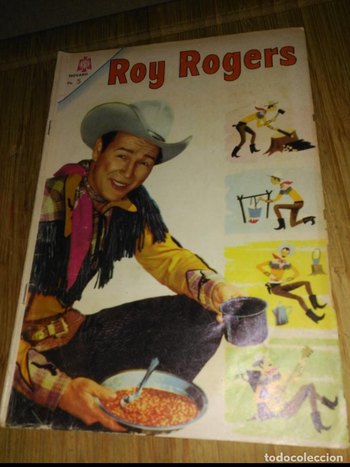 ROY ROGERS Nº 158 (Tebeos y Comics - Novaro - Roy Roger)