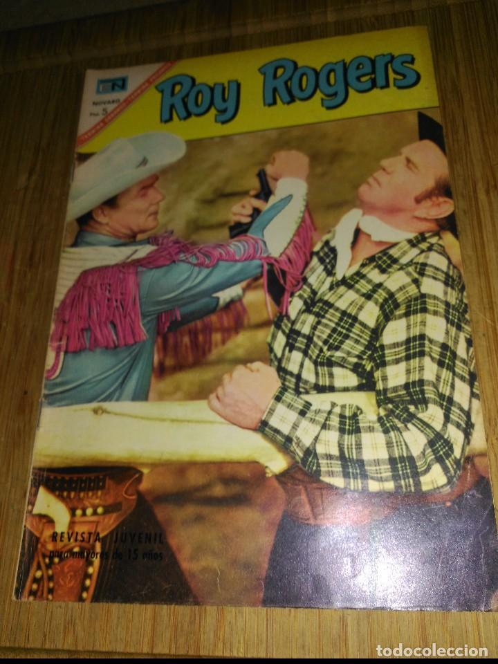 ROY ROGERS Nº 181 (Tebeos y Comics - Novaro - Roy Roger)