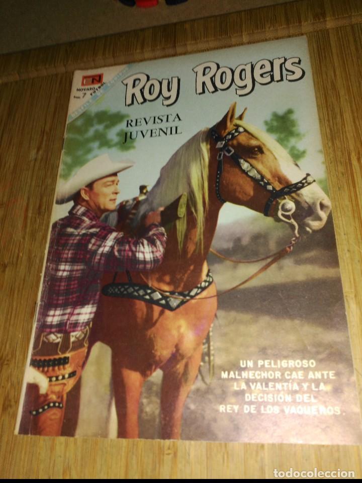 ROY ROGERS Nº 191 (Tebeos y Comics - Novaro - Roy Roger)