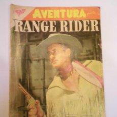 Tebeos: COLECCIÓN AVENTURA - NUM 91 – RANGE RIDER - NOVARO 1958. Lote 155506302